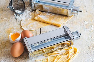 Köstliche hausgemachte Pasta alla Mama!