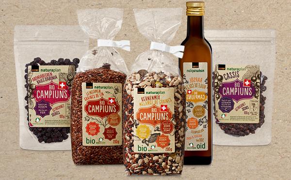 Coop - Superfood with a home advantage:  Naturaplan Bio Campiuns