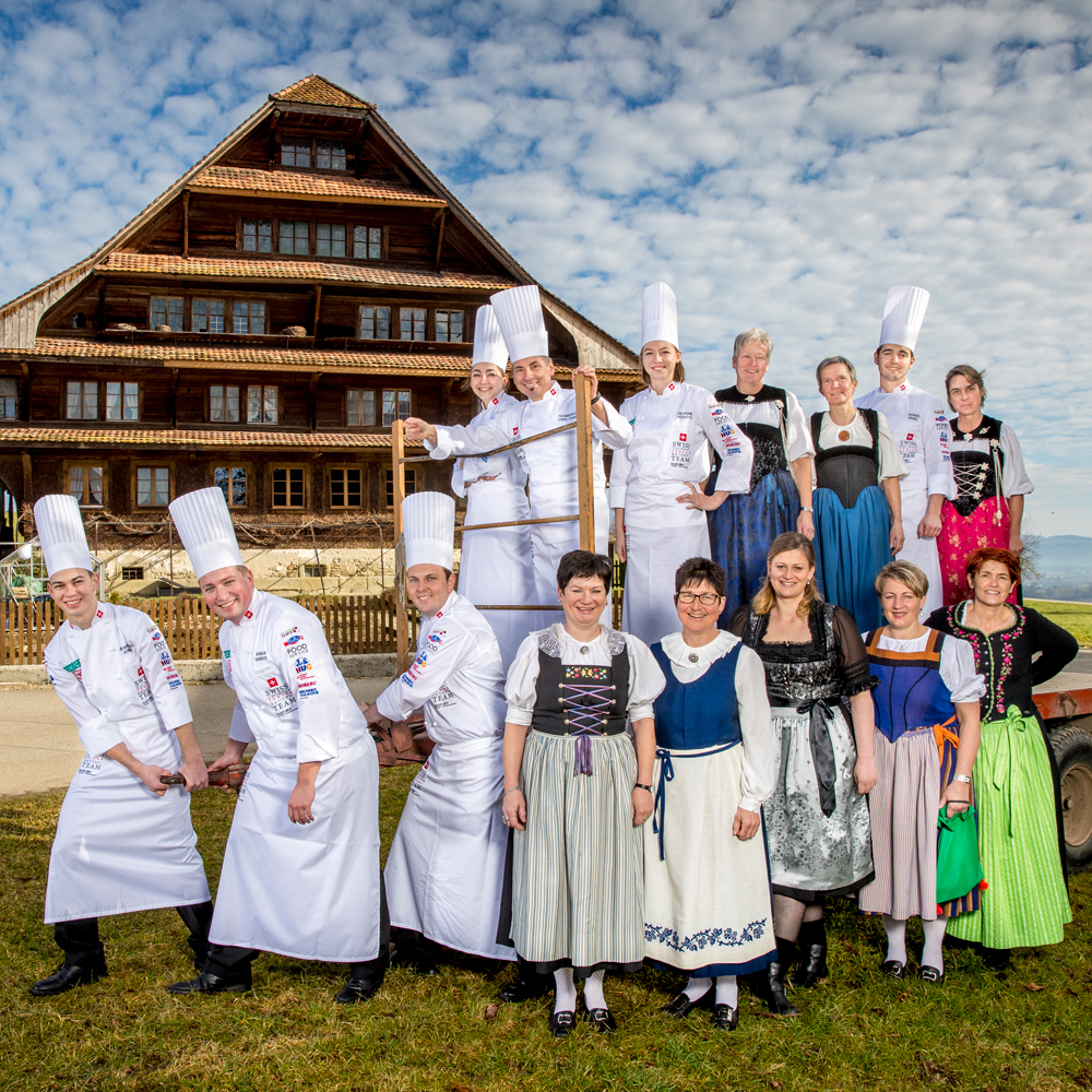 SWISS TAVOLATA at the Unspunnen Banquet 2017