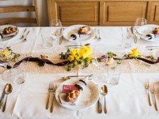 gedeckter Tisch bei Vreni