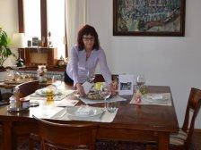 Bei Cristina zu Hause
